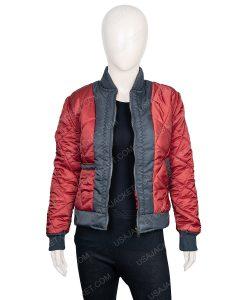 The 100 Lindsey Morgan Bomber Jacket