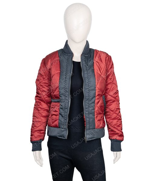 The 100 Lindsey Morgan Bomber Jacket