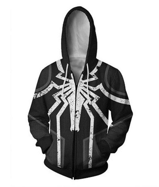 Venom Spider Logo Hoodie
