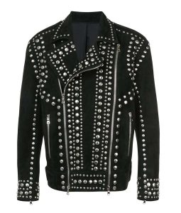 Studded Leather Black jacket
