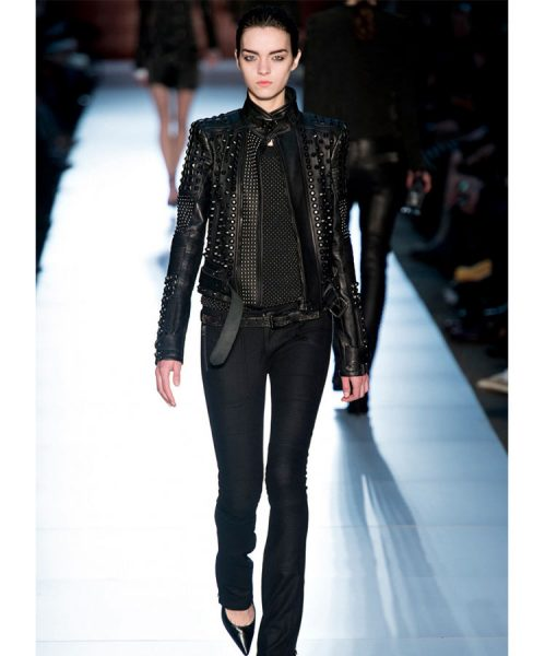 Black Gold Leather jacket