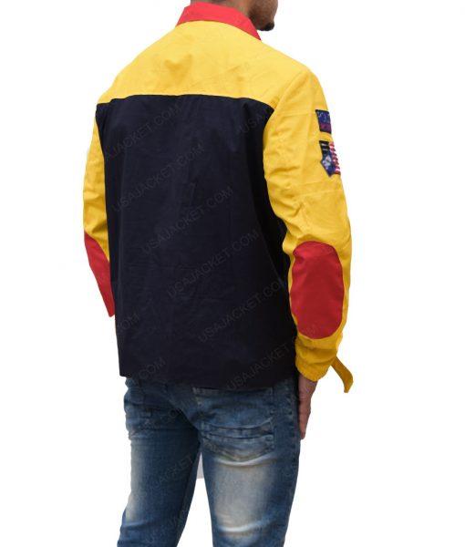 Snow Beach Cotton Biker Jacket