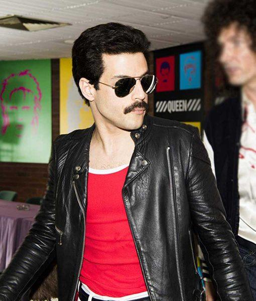 Freddie Black Racer Jacket