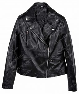 Rami Malek Bohemian Rhapsody Motorcycle Leather Jacket