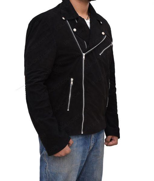 Jon Hamm Baby Drive Buddy Leather Jacket