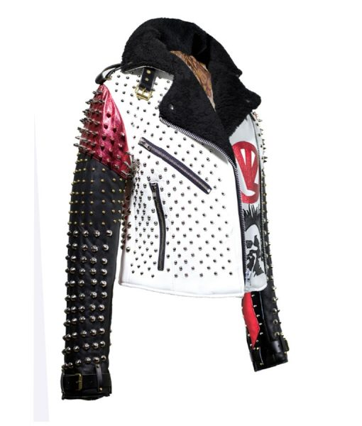 Mens Black and White Jacket