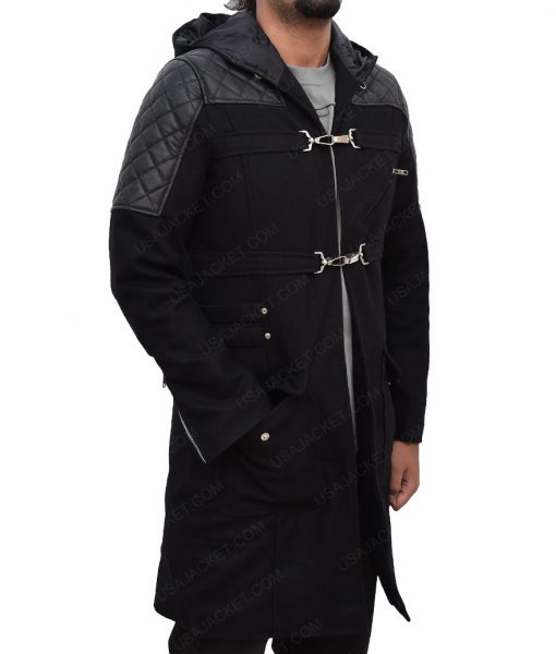 Nero Devil May Cry 5 Black Coat with Mask