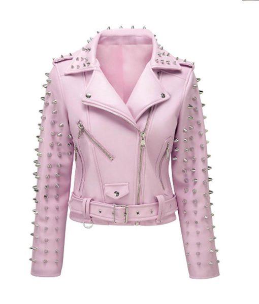 Pink-Studded-Jacket