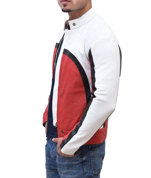 Rami Malek Cafe Racer Leather Jacket
