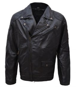 Wrestler Roddy Piper Leather Motorcycle Jacket