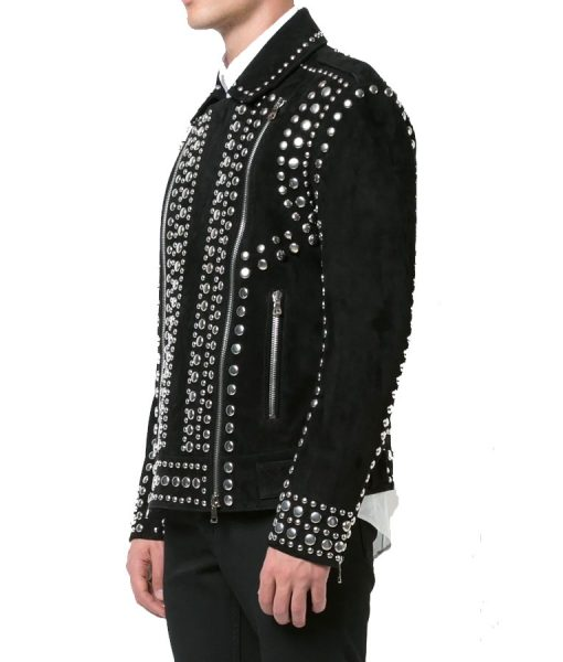Black Rider Studded Jacket