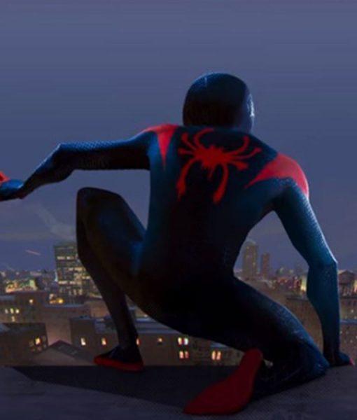 Spiderman Into The Spider Verse Miles Morales Jacket