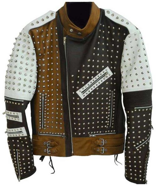 Studded Cafe Racer jacket