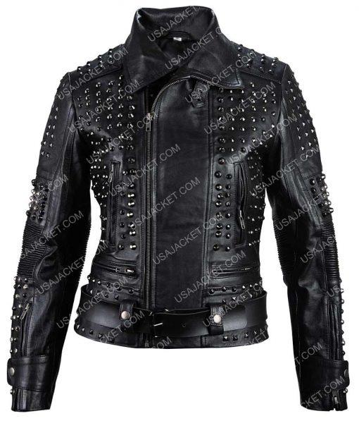 Black Studded jacket