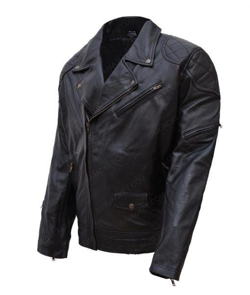 Wrestler Roddy Piper Black Jacket