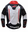 Alpinestars Atem Biker Leather Jacket For Mens