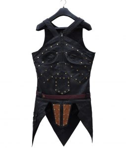 Robin Wright Antiope Justice League Black Leather Corset
