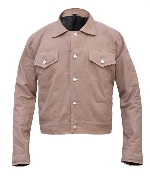 Bradley Cooper A Star Is Born Jackson Maine Beige Cotton Jacket