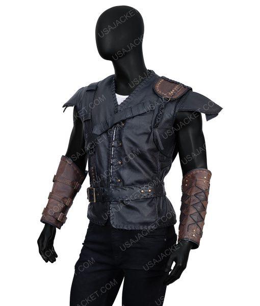 Chris Hemsworth The Huntsman Winter's War Eric Leather Vest