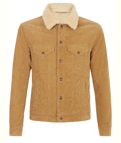Cord Shearling jacket