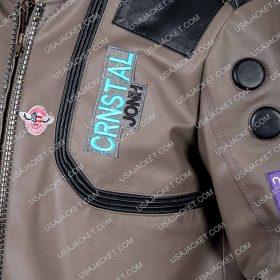 Samuria Brown Leather Jacket