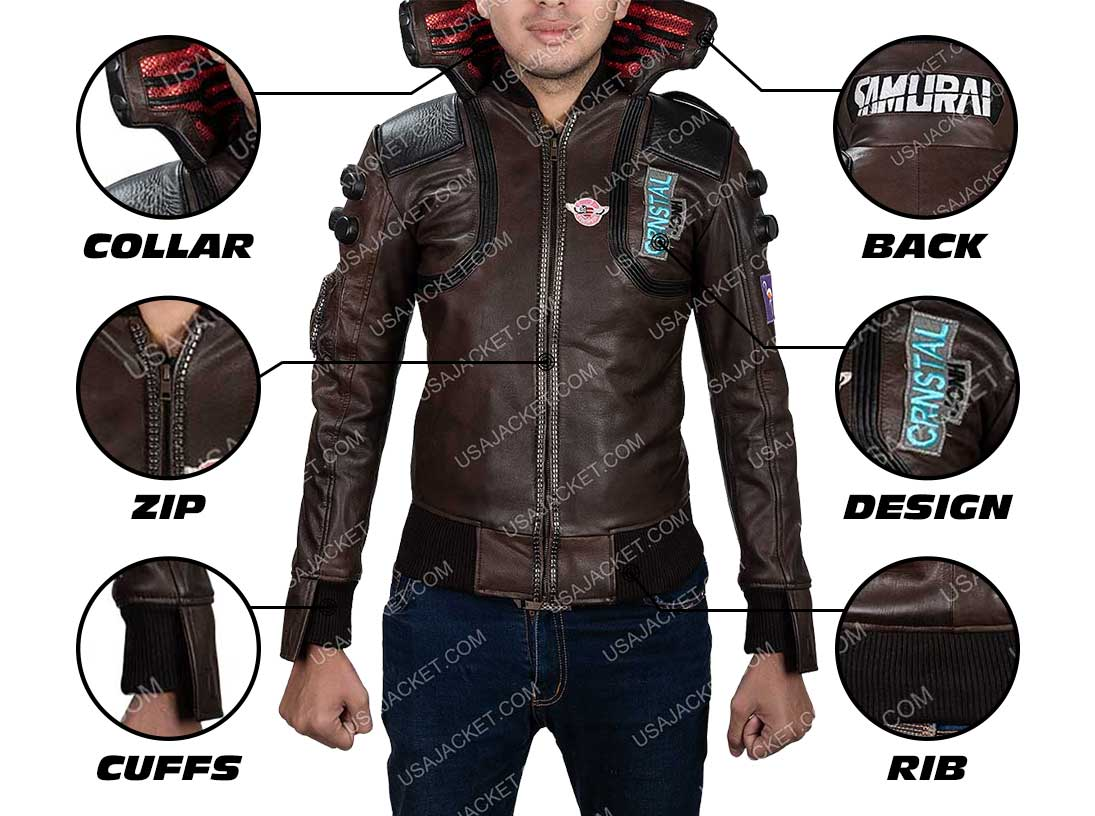 Cyberpunk 2077 Jacket Infogrphy