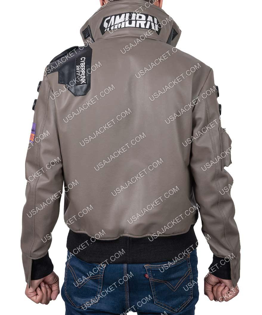 Cyberpunk 2077 Jacket Character V Samurai Light Up