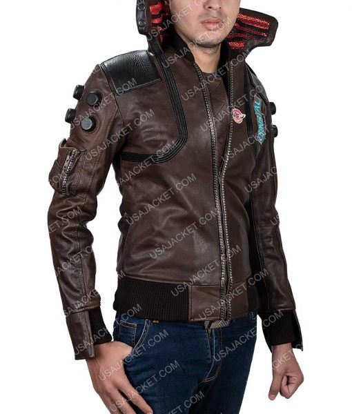 Cyberpunk 2077 Brown Jacket