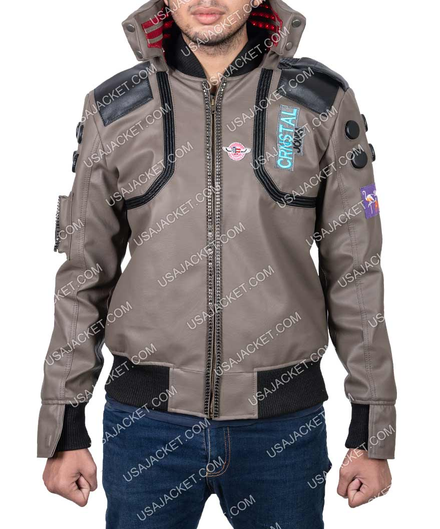 Cyberpunk 2077 Jacket Character V Samurai Light Up
