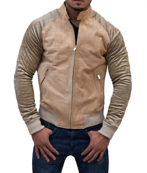 Focus Movie Release Will Smith Fawn Color Cotton Jacket