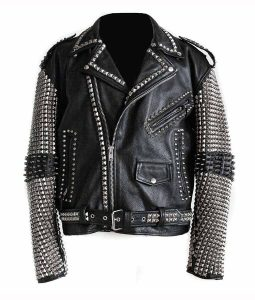 Full Sleeves Studs Jacket