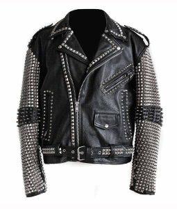 Full Sleeves Studs Jacket
