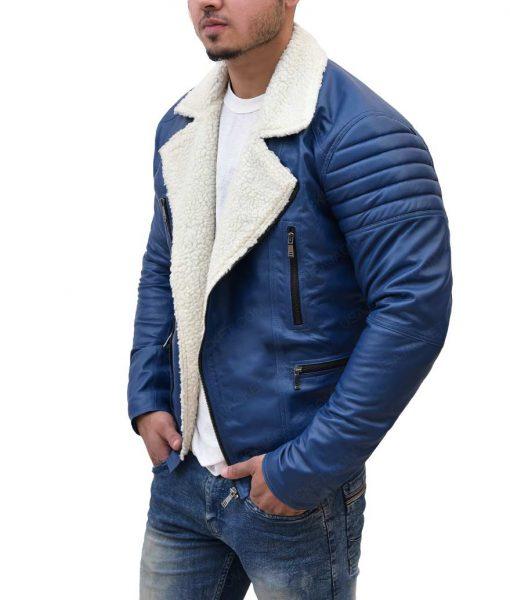 Men's Designer Shearling Jacket