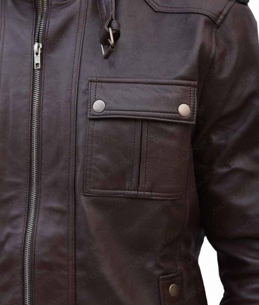 MensSlimfit Dark Brown Jacket