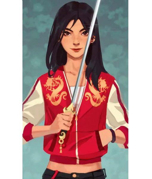 Mulan Dragon jacket