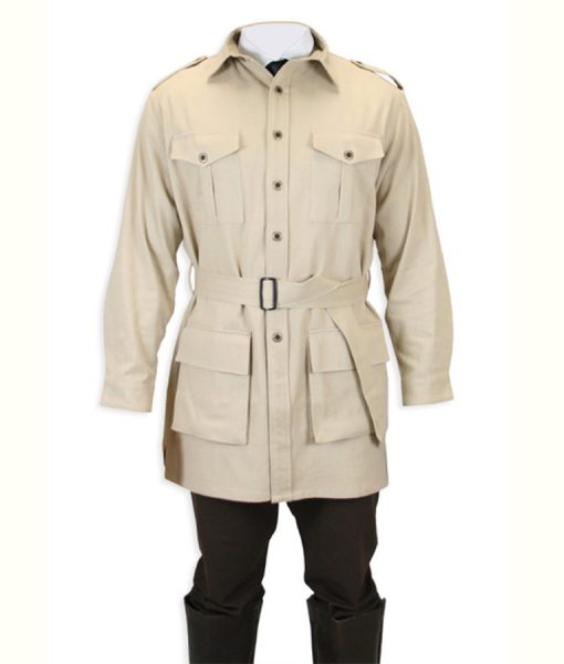 Safari Bush khaki jacket
