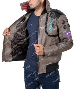 Cyberpunk Samurai Character V Jacket