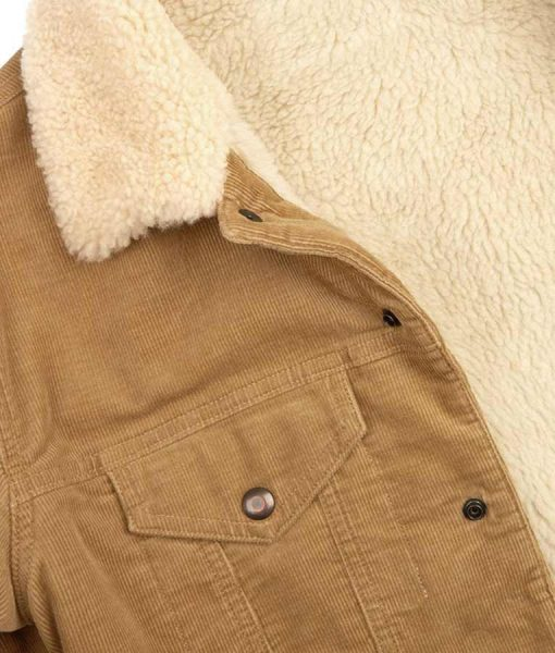 David Shealing Cord Jacket