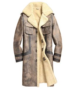 Shearling long Jacket