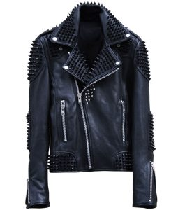 Studded Mens Leather jacket