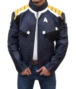 Star Trek Beyond Kirk Blue Slimfit Jacket