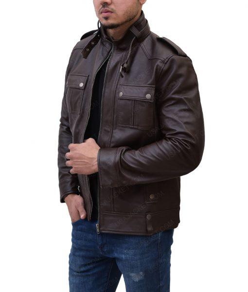 MensSlimfit Strap Pocket Jacket