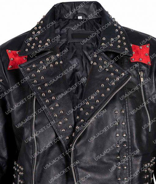 Raffey Cassidy Black Jacket