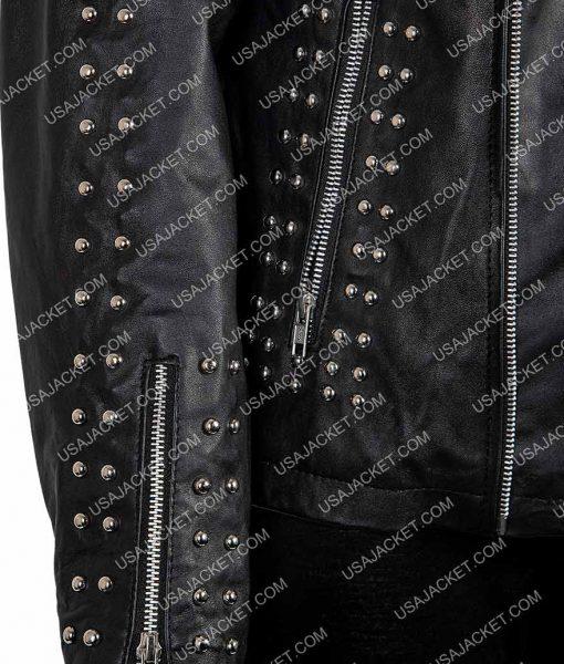 Vox Lux Raffey Leather Jacket