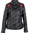 Vox Lux Raffey Studded Fringe Jacket