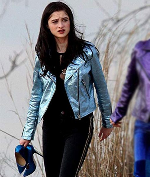 Celeste Blue jacket