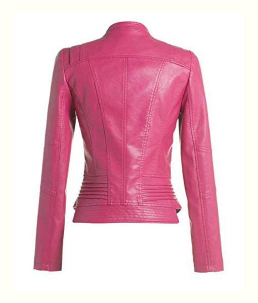 Pink slimfit jacket