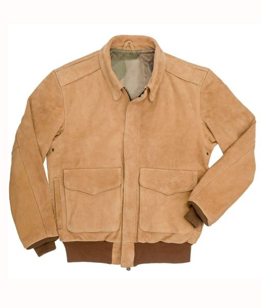 A-2 flight Suede Leather jacket