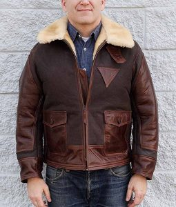 Mens AN-j-4 flight jacket