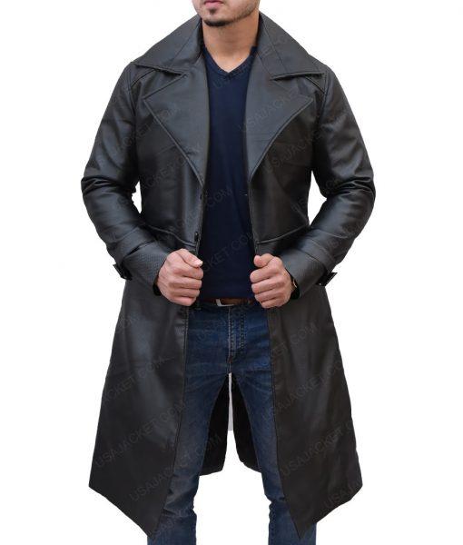 Albert Wesker Resident Evil 5 Black Leather Trench Coat